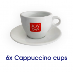 Cappuccino Cups - x6